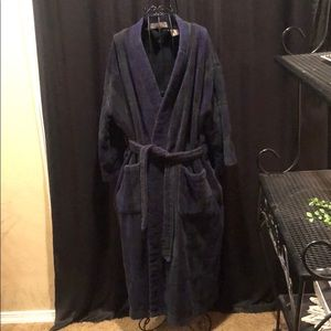 Plush heavy terry clothe robe